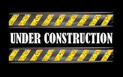 βρώμικο σημάδι κατασκευής κάτω Στοκ εικόνα με δικαίωμα ελεύθερης χρήσης