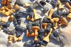Βρώμικο σκάκι Παζαριών Στοκ Φωτογραφίες