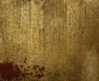 Βρώμικο χρυσό φύλλο Στοκ φωτογραφίες με δικαίωμα ελεύθερης χρήσης