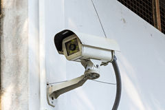 Βρώμικο CCTV Στοκ Εικόνες