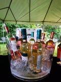 Βυζάντιο αυξήθηκε στάση κρασιού στοκ φωτογραφία με δικαίωμα ελεύθερης χρήσης