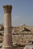 Βυζαντινές καταστροφές εκκλησιών, Αμμάν Στοκ Φωτογραφίες