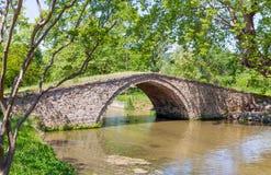 Βυζαντινή γέφυρα, Έδεσσα, Ελλάδα Στοκ Φωτογραφία