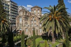 Βυζαντινό μνημείο Θεσσαλονίκης Στοκ Εικόνες