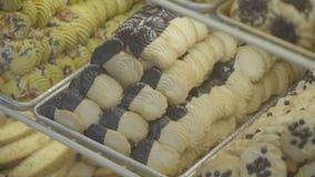 Βυθισμένα σοκολάτα βουτύρου μπισκότα φιλμ μικρού μήκους