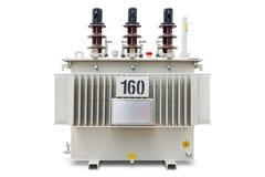 βυθισμένος πετρέλαιο μετασχηματιστής 160 kVA Στοκ Φωτογραφία