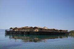 βυθισμένο μουσείο ψαροχώρι στα κόκκαλα στοκ εικόνα με δικαίωμα ελεύθερης χρήσης
