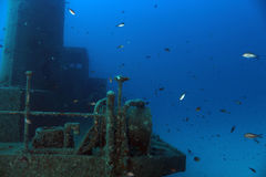 Βυθισμένο Tugboat Στοκ Φωτογραφίες