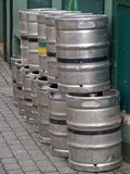 βυτία μπύρας Στοκ Εικόνες