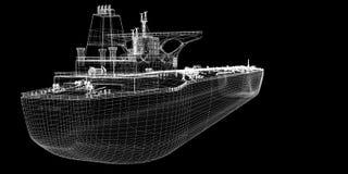 βυτιοφόρο σκαφών ακατέργ&al Στοκ Φωτογραφίες