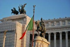 Βωμός της πατρικής γης στη Ρώμη, Ιταλία Στοκ Φωτογραφίες