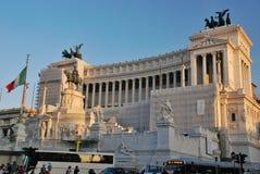 Βωμός της πατρικής γης στη Ρώμη, Ιταλία Στοκ Φωτογραφία
