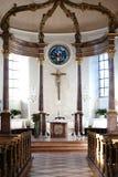 Βωμός ST Georg Church Nieder-Olm Στοκ φωτογραφία με δικαίωμα ελεύθερης χρήσης