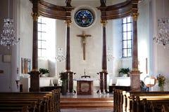 Βωμός ST Georg Church Nieder-Olm Στοκ εικόνα με δικαίωμα ελεύθερης χρήσης