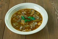 Βόειο κρέας ή μοσχαρίσιο κρέας Piccata Στοκ Εικόνα