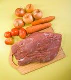 βόειο κρέας ακατέργαστο στοκ φωτογραφίες