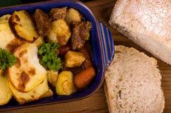 Βόειο κρέας ιρλανδικό Stew δυνατής μπύρας Στοκ εικόνα με δικαίωμα ελεύθερης χρήσης