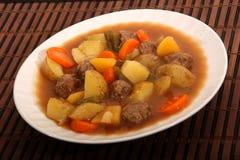 βόειο κρέας και φυτικό stew στοκ εικόνες