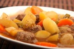 Βόειο κρέας και φυτικό stew στοκ εικόνα