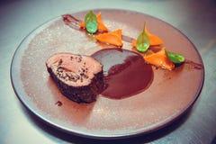 Βόειο κρέας με την τρούφα Στοκ Φωτογραφίες