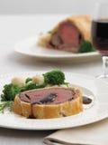 βόειο κρέας Ουέλλινγκτ&omic Στοκ εικόνα με δικαίωμα ελεύθερης χρήσης