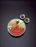 βόειο κρέας που δίνουν όψη μαρμάρου στοκ φωτογραφία