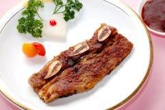 βόειο κρέας που τηγανίζε&t Στοκ φωτογραφία με δικαίωμα ελεύθερης χρήσης