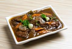 Βόειο κρέας της Κίνας Caichao Στοκ Φωτογραφία
