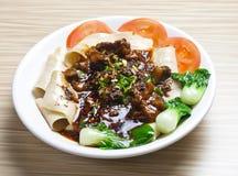 Βόειο κρέας της Κίνας Caichao Στοκ Φωτογραφίες