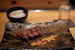 Βόειο κρέας του Kobe σε ένα ιαπωνικό εστιατόριο Στοκ Εικόνα