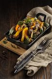 Βόειο κρέας ψητού με τα λαχανικά στοκ φωτογραφία με δικαίωμα ελεύθερης χρήσης