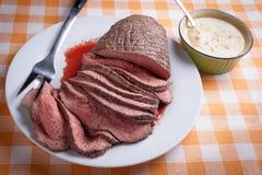 Βόειο κρέας ψητού Στοκ εικόνες με δικαίωμα ελεύθερης χρήσης