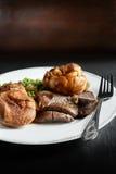 Βόειο κρέας 3 ψητού Στοκ εικόνα με δικαίωμα ελεύθερης χρήσης