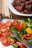 βόειο κρέας 002 shishkabobs Στοκ Φωτογραφία