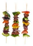 βόειο κρέας 8 shishkabobs Στοκ εικόνα με δικαίωμα ελεύθερης χρήσης