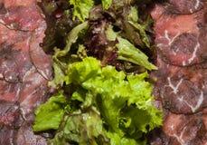 Βόειο κρέας Carpaccio Στοκ Φωτογραφίες