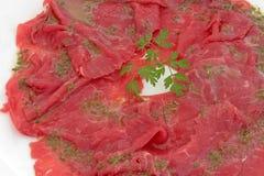 Βόειο κρέας Carpaccio Στοκ Φωτογραφία