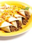 Βόειο κρέας Enchiladas Στοκ εικόνα με δικαίωμα ελεύθερης χρήσης