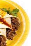 Βόειο κρέας Enchiladas Στοκ φωτογραφία με δικαίωμα ελεύθερης χρήσης