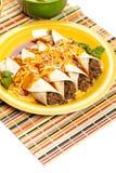 Βόειο κρέας Enchiladas Στοκ φωτογραφίες με δικαίωμα ελεύθερης χρήσης