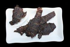 βόειο κρέας jerky Στοκ Φωτογραφίες