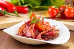 βόειο κρέας jerky Στοκ Εικόνα
