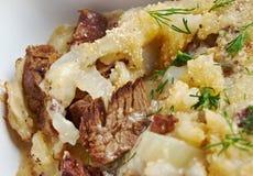 Βόειο κρέας Miroton στοκ εικόνα με δικαίωμα ελεύθερης χρήσης