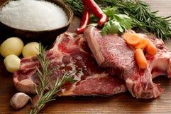βόειο κρέας steack δύο Στοκ φωτογραφία με δικαίωμα ελεύθερης χρήσης