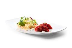 Βόειο κρέας Tartare Στοκ φωτογραφία με δικαίωμα ελεύθερης χρήσης