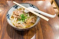 Βόειο κρέας Udon Στοκ Φωτογραφίες