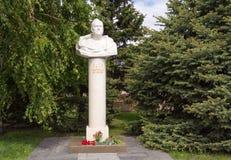 Βόλγκογκραντ Ρωσία - 11 Μαΐου 2017 Μνημείο Zhukovu Georgiyu Konstantinovichu, ένα προεξέχον σοβιετικό voenachalniku, chetyrezhdy  Στοκ Εικόνες