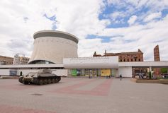 Βόλγκογκραντ Ρωσία - 11 Μαΐου 2017 Το αναμνηστικό σύνθετο μουσείο-πανόραμα Στοκ εικόνες με δικαίωμα ελεύθερης χρήσης
