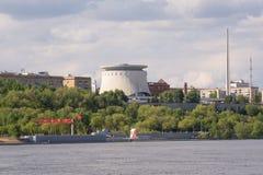 Βόλγκογκραντ Ρωσία - 11 Μαΐου 2017 Το αναμνηστικό σύνθετο μουσείο-πανόραμα Στοκ Εικόνα