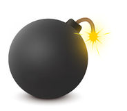 βόμβα παλαιά Στοκ εικόνες με δικαίωμα ελεύθερης χρήσης